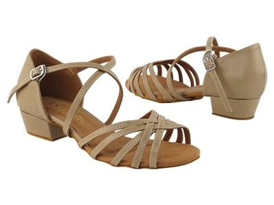 Style 1670FT Tan Leather Flat Heel