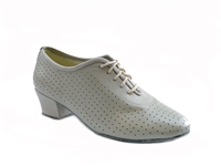 Style 2001 Creamy White Leather - Women's Dance Shoes | Blue Moon Ballroom Dance Supply