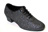 Style 2001 Black Sparklenet - Women's Dance Shoes | Blue Moon Ballroom Dance Supply