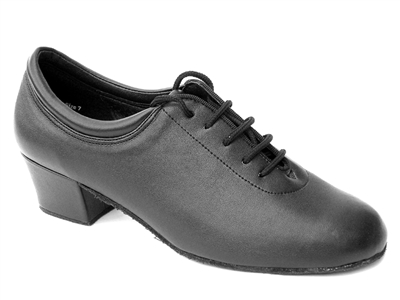 Style 2601 Black Leather - Women's Dance Shoes | Blue Moon Ballroom Dance Supply