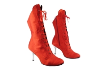 Style 3301 112 Red Satin Boot