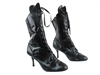 Style 3301 222 Snake Black Boot - Dance Footwear | Blue Moon Ballroom Dance Supply