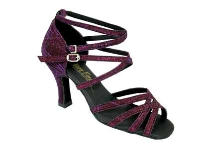 Style 5008 Purple Illusion - Women's Dance Shoes | Blue Moon Ballroom Dance Supply