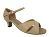 Style 6029 Tan Leather Cuban Heel