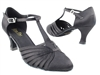 Style 6829 Black Satin - Ladies Dance Shoes | Blue Moon Ballroom Dance Supply