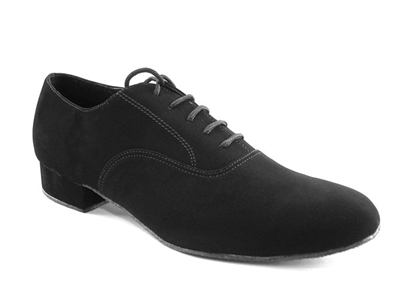 Style 919101 Black Nubuck - Women's Dance Shoes | Blue Moon Ballroom Dance Supply