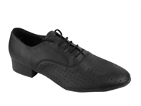 Style 919101 Black Perforated Leather - Women's Dance Shoes | Blue Moon Ballroom Dance Supply