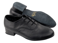 Style 919101B Black Leather - Boys Dance Shoes | Blue Moon Ballroom Dance Supply