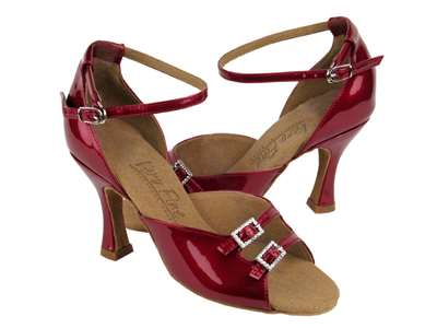 Style C1620 Red Patent - Ladies Dance Shoes | Blue Moon Ballroom Dance Supply