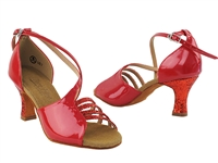 Style C1651 Red Sparkle & Red Patent Vegan