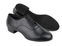Style C2503 Black Leather - Women's Dance Shoes | Blue Moon Ballroom Dance Supply