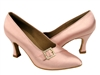 Style C6904 Flesh Satin - Ladies Dance Shoes | Blue Moon Ballroom Dance Supply