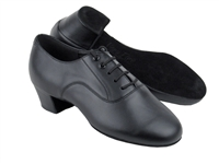 Style C915108 Black Leather Latin Heel - Women's Dance Shoes | Blue Moon Ballroom Dance Supply