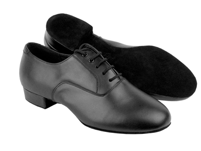 Style C919101 Black Leather - Women's Dance Shoes | Blue Moon Ballroom Dance Supply