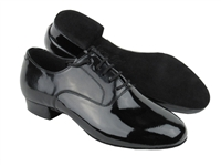 Style C919101 Black Patent - Women's Dance Shoes | Blue Moon Ballroom Dance Supply