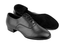 Style C919101W Black Leather - Women's Dance Shoes | Blue Moon Ballroom Dance Supply
