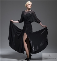 Style LBD Alia Long Dress - Women's Dancewear | Blue Moon Ballroom Dance Supply