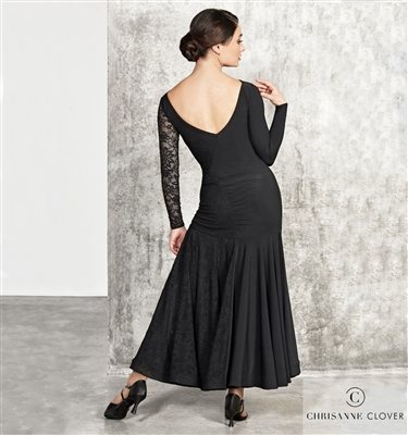 Style LBD Franchesca Ballroom Dress | Blue Moon Ballroom Dance Supply