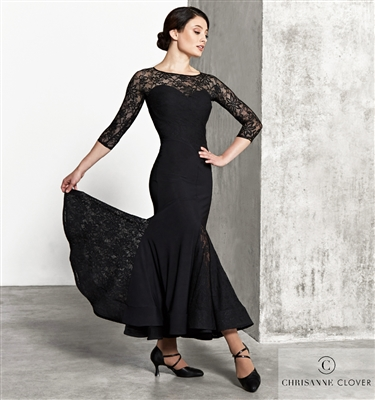 Style LBD Lilianna Ballroom Dress | Blue Moon Ballroom Dance Supply