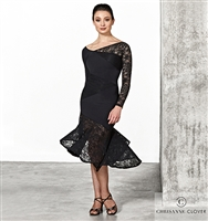 Style LBD Monique Latin Dress