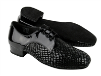 Style CD1418 Black Patent - Women's Dance Shoes | Blue Moon Ballroom Dance Supply