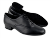 Style CD1420 Black Leather - Women's Dance Shoes | Blue Moon Ballroom Dance Supply