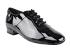 Style CD1427DB Black Patent Leather - Men's Dance Shoes | Blue Moon Ballroom Dance Supply