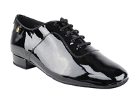 Style CD1427DB Black Patent Leather - Women's Dance Shoes | Blue Moon Ballroom Dance Supply