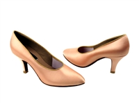Style CD5021M Flesh Satin - Ladies Dance Shoes | Blue Moon Ballroom Dance Supply