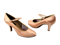 Style CD5024M Flesh Satin - Ladies Dance Shoes | Blue Moon Ballroom Dance Supply