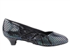 Style CD5501 Black Leather Cuban Heel - Ladies Dance Shoes | Blue Moon Ballroom Dance Supply