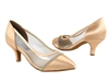 Style CD5502 Tan Satin - Ladies Dance Shoes | Blue Moon Ballroom Dance Supply