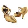 Style CD6017 Tan Satin - Ladies Dance Shoes | Blue Moon Ballroom Dance Supply