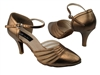 Style CD6033 Copper Nude Leather - Ladies Dance Shoes | Blue Moon Ballroom Dance Supply
