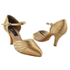 Style CD6033 Tan Satin - Ladies Dance Shoes | Blue Moon Ballroom Dance Supply