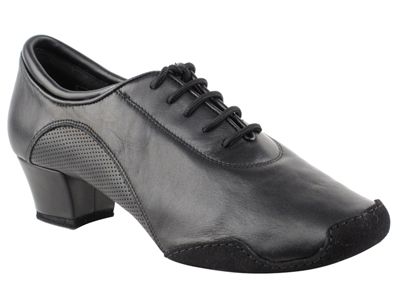 Style CD9320 Black Leather - Women's Dance Shoes | Blue Moon Ballroom Dance Supply
