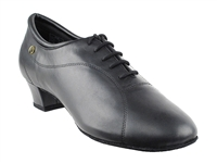 Style CD9326DB Black Leather - Women's Dance Shoes | Blue Moon Ballroom Dance Supply