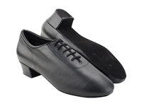 Style CD9336 Black Leather - Men's Dance Shoes | Blue Moon Ballroom Dance Supply