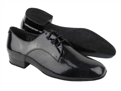 Style CD9416 Black Patent - Men's Dance Shoes | Blue Moon Ballroom Dance Supply