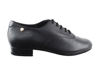 Style CD9421DB Black Leather - Women's Dance Shoes | Blue Moon Ballroom Dance Supply