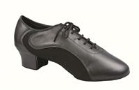 Style DA Aspen Black Leather &  Lycra Mens Practice Shoe - Shoes | Blue Moon Ballroom Dance Supply