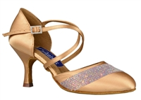 Style DA Charlotte Rhinestone Closed Toe Shoe - Shoes | Blue Moon Ballroom Dance Supply
