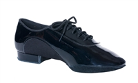 Style DA Chicago Mens Black Patent and Lycra Ballroom Shoe - Shoes | Blue Moon Ballroom Dance Supply