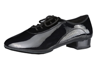 Style DA Denver Mens Black Patent Ballroom Shoe - Shoes | Blue Moon Ballroom Dance Supply