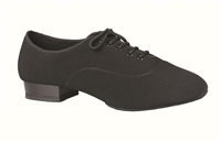 Style DA Jackson Black Lycra Mens Practice Shoe - Shoes | Blue Moon Ballroom Dance Supply