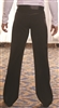 Style MP2 Latin Pant with Satin Stripe - Men's Dancewear | Blue Moon Ballroom Dance Supply