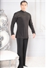 Style MS37 Embroidery Inset Shirt - Men's Dancewear | Blue Moon Ballroom Dance Supply