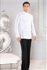 Style MS41 Tunic with Side Stripe Inset - Men's Dancewear | Blue Moon Ballroom Dance Supply