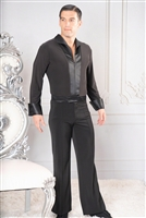 Style MS42 Satin Trim Soft Shirt