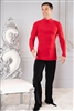 Style MS6A Simple Turtleneck no Trunks - Men's Dancewear | Blue Moon Ballroom Dance Supply